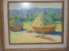 HAYSTACKS AT THE END OF THE SUMMER/ J.R Smano (Bernkastel.) Tags: summer art haystacks monet pastels end samano