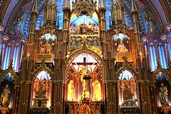 Notre Dame Basilica, Montreal (DP|Photography) Tags: canada cathedral quebec montreal churches notredame notredamebasilica gothicarchitecture basiliquenotredamedemontral architectureduqubec debashispradhan dpphotography dp|photography