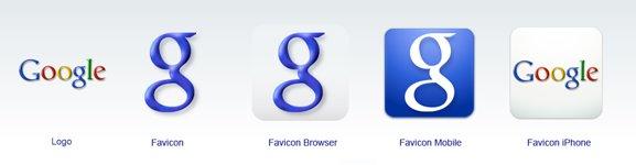 Google, nuevos favicon