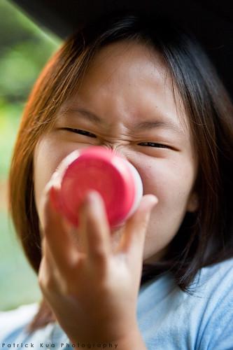 Pink Nose Girl