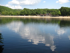 Houghton's Pond beach