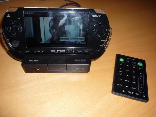 Présentation du nouveau service de VOD pour la PSP