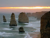 sunset over 12 Apostles