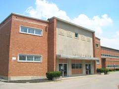 DSCN9552 (oldohioschools) Tags: county old school ohio building architecture high hamilton butler fairfield township