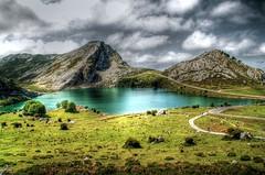 Lago Enol (Freakland - ) Tags: espaa naturaleza nature lago spain europa europe asturias montaa picosdeeuropa lagoenol freakland davidsanz