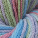Gentle Rainbow on Worsted Merino - 4 oz