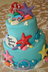 The Little Mermaid (irresistibledesserts) Tags: birthday girl cake mermaid tlittle