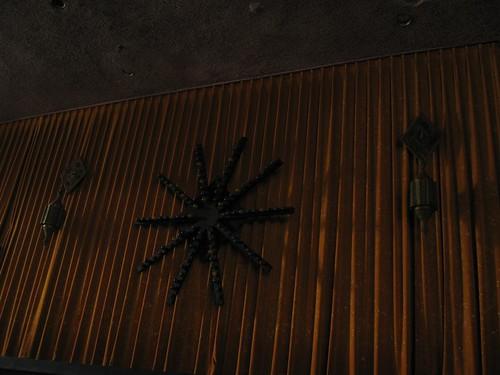 Lighting equipment in the Persian Room