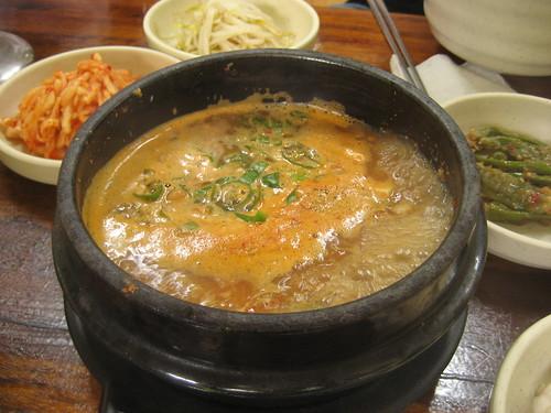 청국장: fermented bean stew
