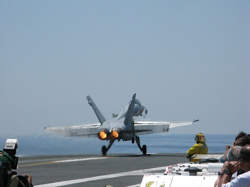 Fighter Airplane picture - F-18 Hornet Taking Off