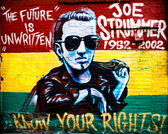 The Future is Unwritten : Joe Strummer by MrOmega, on Flickr