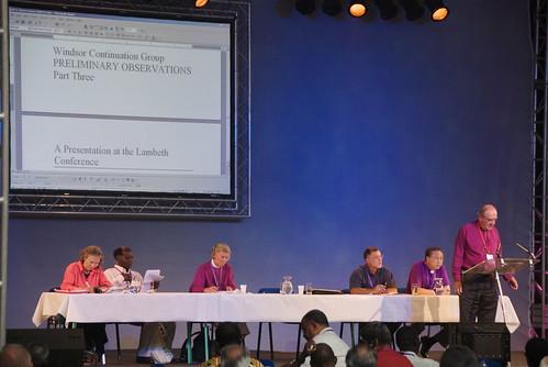 apresentação do Grupo sobre o Processo de Windsor
