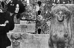 Music II (clarkvr) Tags: world music art female germany painting lost war destruction klimt worldwarii gustav clark sterling clippings figures mythology destroyed pillage allegories lyres sphinxes sterlingandfrancineclarkartinstitutelibrary artgalleryandmuseums