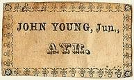 John Young book label