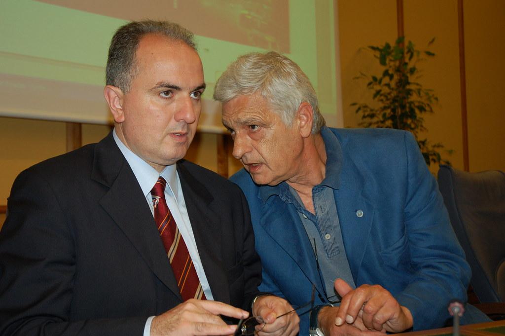 Giuseppe Lumia e Orfeo Notaristefano