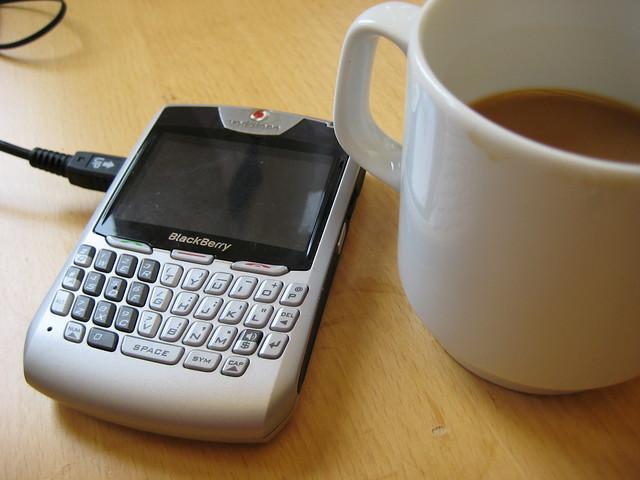 Blackberry & coffee