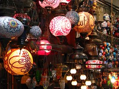 Lights in bazar (Igor Vita) Tags: turkey istanbul gran bazar turchia