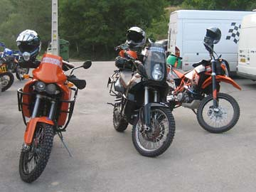 Bikes at Mountain Madness 2008
