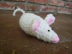 White Mouse Amigurumi