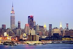 New York Vertical City (Tony Shi Photos) Tags: empirestatebuilding hdr midtownmanhattan newyorkcityskyline weehawkennj    nycbigapple  sonyalpha700