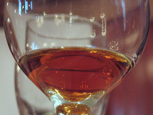 About 3/4 ounce of a fabulous Cognac
