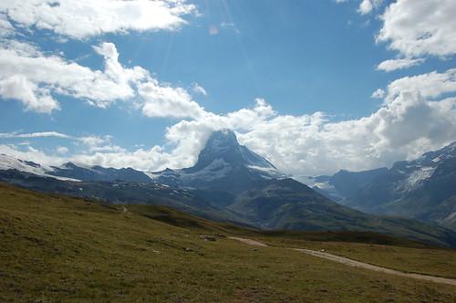 とても景色のよいハイキングコース