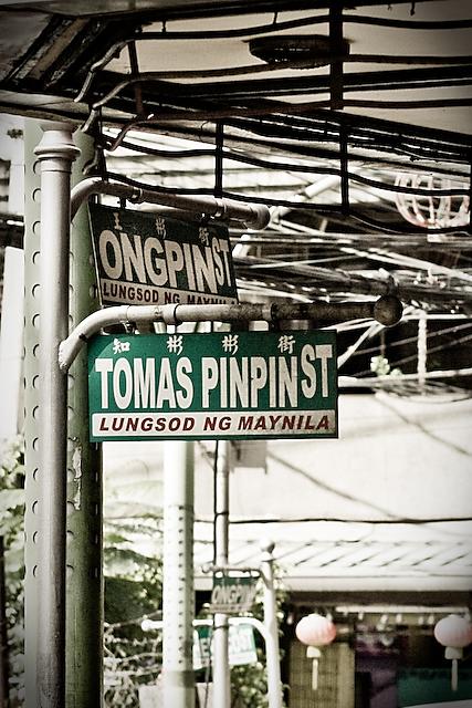 Ongpin & Tomas Pinpin Street