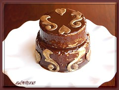 Mini Choclate Cake (~Trs Chic Cupcakes by ShamsD~) Tags: beautiful cake southafrica gold candy chocolate ganache explore pietermaritzburg goreous shamsd proudlysouthafrica shamimadesai madeinsouthafrica cakesfromsouthafrica cakesinpietermaritzburg
