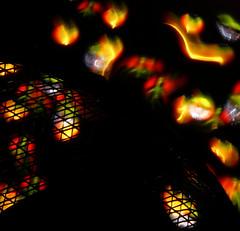 Symbolism 1: Burning (binaryCoco) Tags: lightpainting rainbow peace frieden grill led torch rost regenbogen taschenlampe symbolism gitter 500x500 windowcolor pocketlamp leuchtdiode fensterfarbe artlegacy creattività symblismus