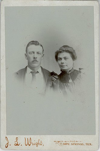 Man, woman portrait