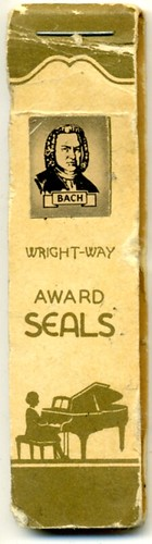 Wright-Way Award Seals - Bach (Cover)