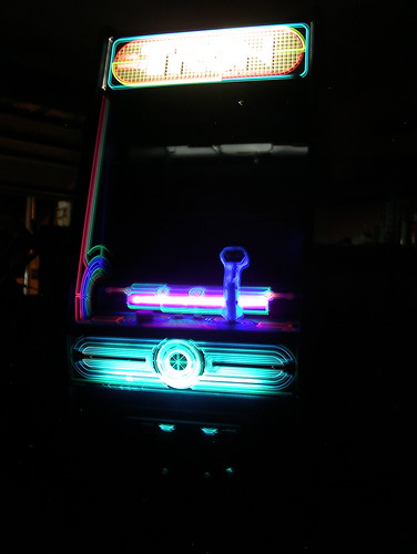 Nothing like a Tron in the dark.