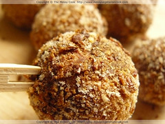 "Vegetarian Okara ""Chicken"" Balls"