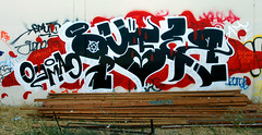 Pufer (funkandjazz) Tags: california graffiti eastbay nr pdb ibd vts pufer