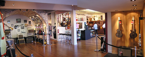 Redbone Guitar Boutique Showroom