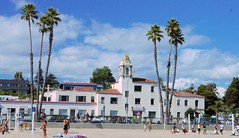 La Bahia (cwgoodroe) Tags: california carnival blue wedding summer santacruz sun color beach water sand surf candy games boardwalk rollercoaster