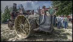 Steam Tractor - Waiting to Go