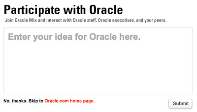 Oracle Mix Network