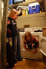 Clone in the machine (Queen Tonks, EFDA) Tags: laundry clones dryer