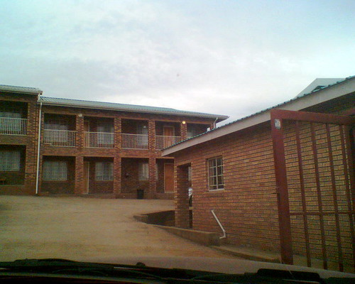 Our apartment building in Mount Frere