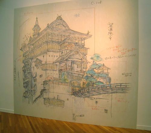 Layout du Voyage de Chihiro