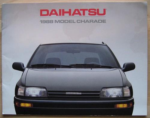Daihatsu Charade 1988 USA