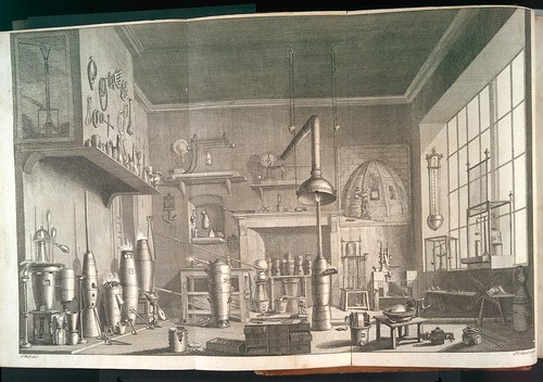 Laboratory for metallurgy and the industrial arts 1765 (Canot, Wale)