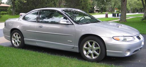 2000 Grand Prix Gtx Coupe Silvermist Pontiac G8