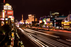 Las Vegas Blvd night exposure
