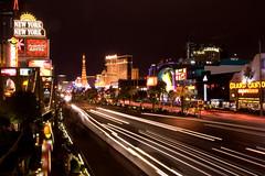 Las Vegas Blvd night exposure