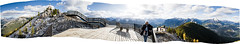 Banff (mahonyweb) Tags: mountain canada pano alberta banff sulphurmountain lightroom banffnationalpark cs3 sansonpeak bowvalley banffgondola canon2470l canonllens canoneos1dsmarkiii canon1dsmarkiii