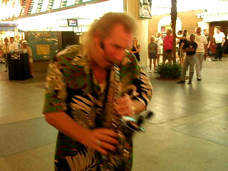 The best damn saxophone player in Las Vegas!