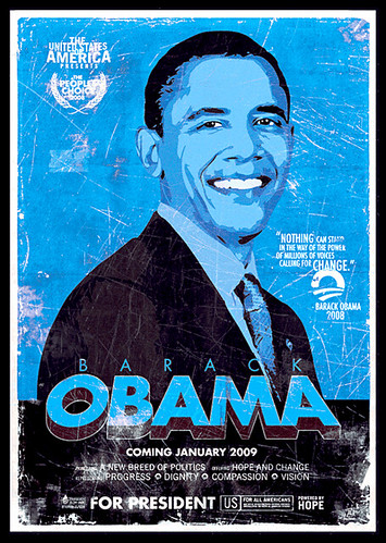 Obama Movie Poster by Zoltron