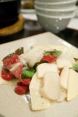 季節野菜と帆立の炒め, ミンミン木場店